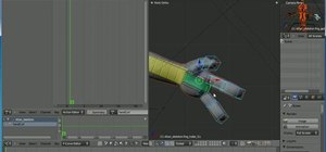 Set up and manipulate action constraints in Blender