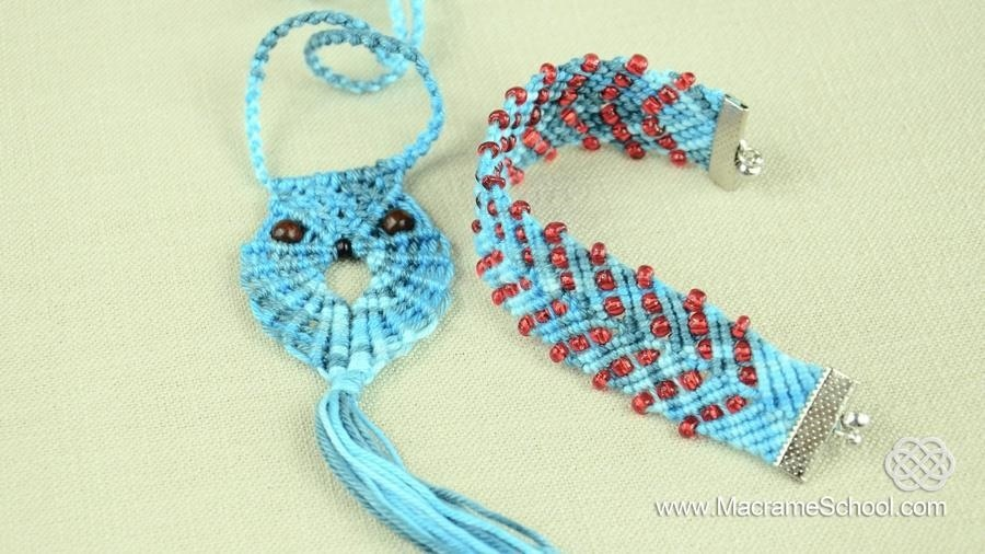 How to make a wave friendship bracelet