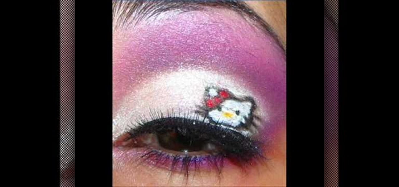 how to create hello kitty inspired makeup 171 makeup