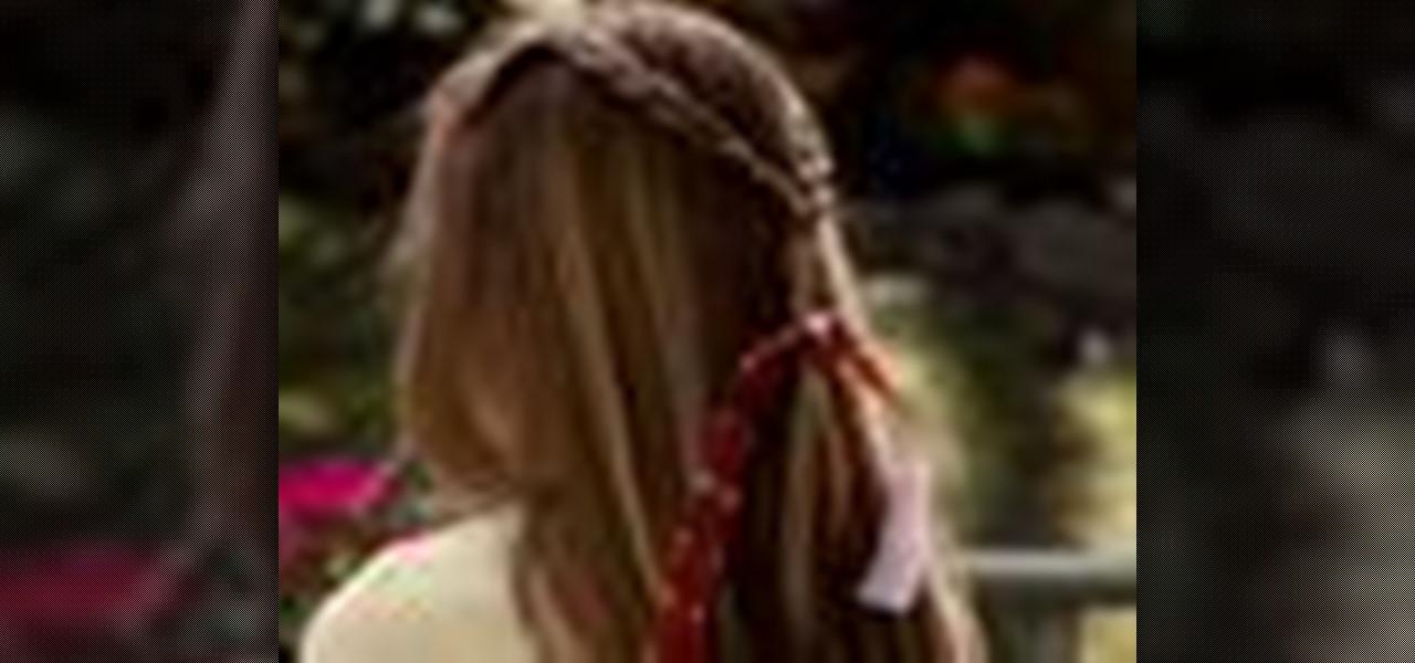Braid Pigtails Yourself Hair in Pigtail Braids