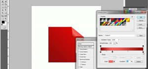 Create a page curl effect in Adobe Photoshop