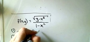 Find and sketch the domain of a multivariable function