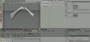 Model with the NURBS tools in MAXON Cinema 4D