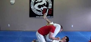 Do the sit and pry escape from a triangle choke