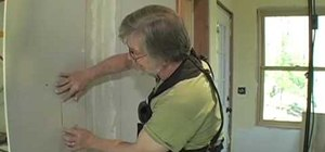 Patch drywall on your own