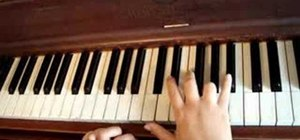 "Play ""Crush"" by David Archuleta on the piano"