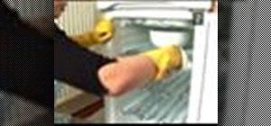 Defrost a freezer