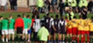 Three sided football