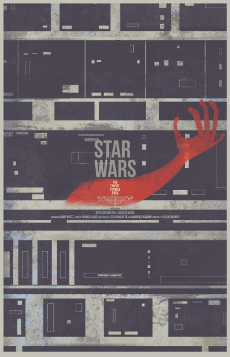 Star Wars Triology - Fan Made Posters