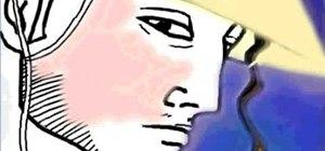 Draw Shunsui Kyoraku from Bleach