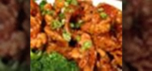 Cook the delicious Chinese General Gau's chicken