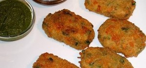 Make vegetable cutlets with Manjula
