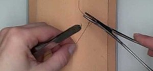 Practice horizontal mattress suturing