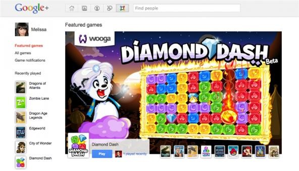 It's Official: Games Arrive on Google+