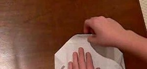 Make a box using a square piece of paper