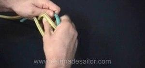 Tie a Grass Bend