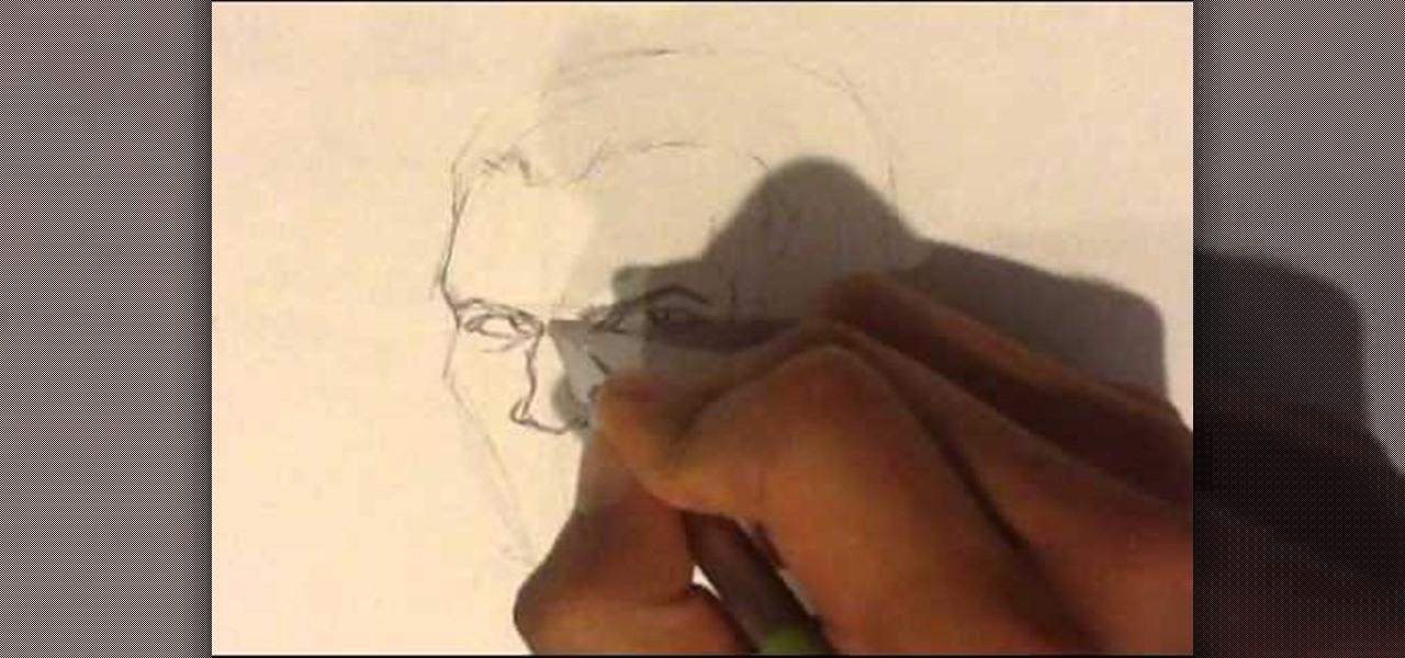 Draw a Vampire-Smirk