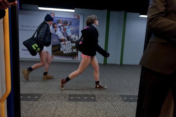 The 2011 No-Pants Subway Ride