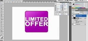 Create a limited offer button in Photoshop