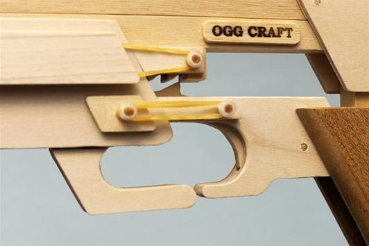 The Ultimate Armory of Rubber Band Guns, Complete with 504-Round
