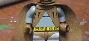 Make a Nite Owl from Watchmen custom Lego minifigure