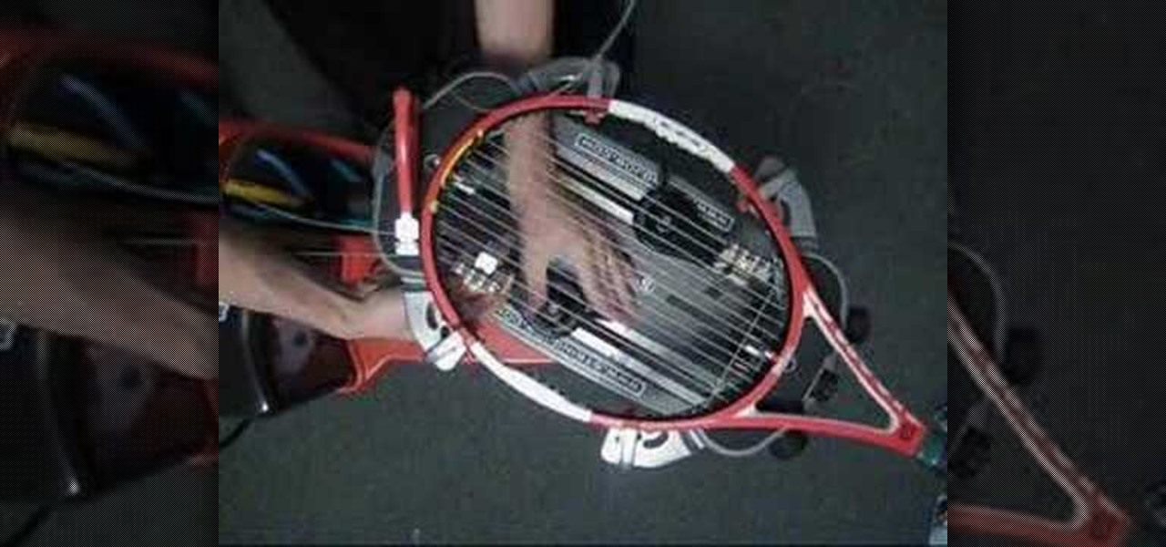 Learn To String Tennis Racquets DVD Course - YouTube
