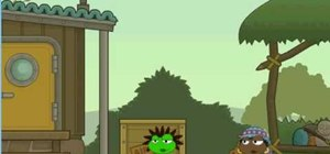 Enter cheat codes for special goodies in the game Poptropica