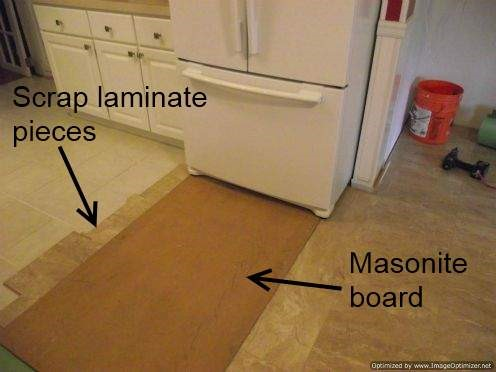 Installing Laminate Tile Over Ceramic Tile
