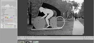 Convert photographs to black and white in Aperture 2