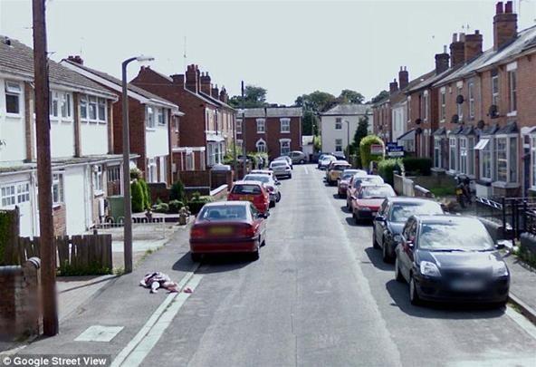 """""""Dead"""" Girl Pranks the World on Google Street View"""