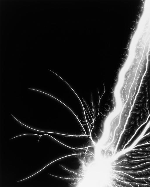 Photograms Shocked With 400,000 Volts and LSD Seascapes