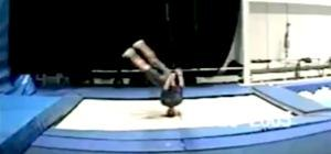 Jaw Dropping Trampoline Skills