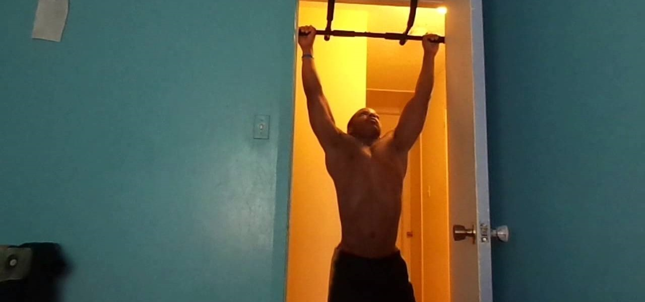 16 Year Old Doing 21 Wide Grip Pull Ups
