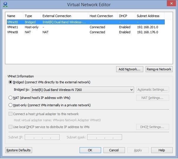 How to Configure the Bridged Mode on VM?