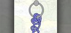 Tie the Anchor Hitch or Fisherman's Bend knot