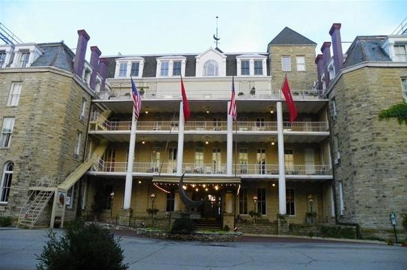"""Horror Photography Challenge: The """"Haunted"""" Cresent Hotel"""