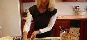 Make an ice cream sandwich cake