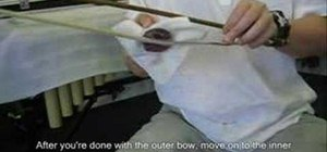 Rosin your erhu bow