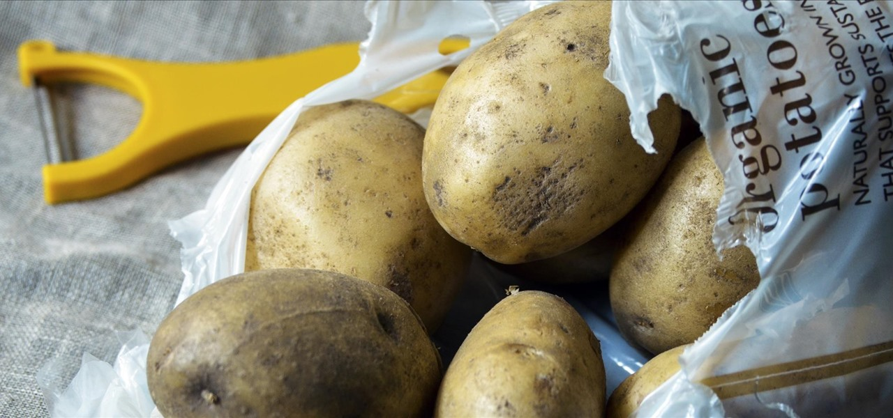 Peel an Entire Bag of Potatoes in Under a Minute