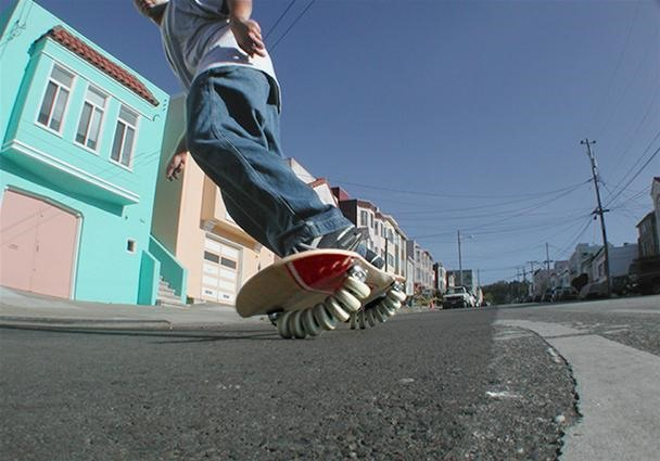 14-Wheeled Skateboard: Is More Better?