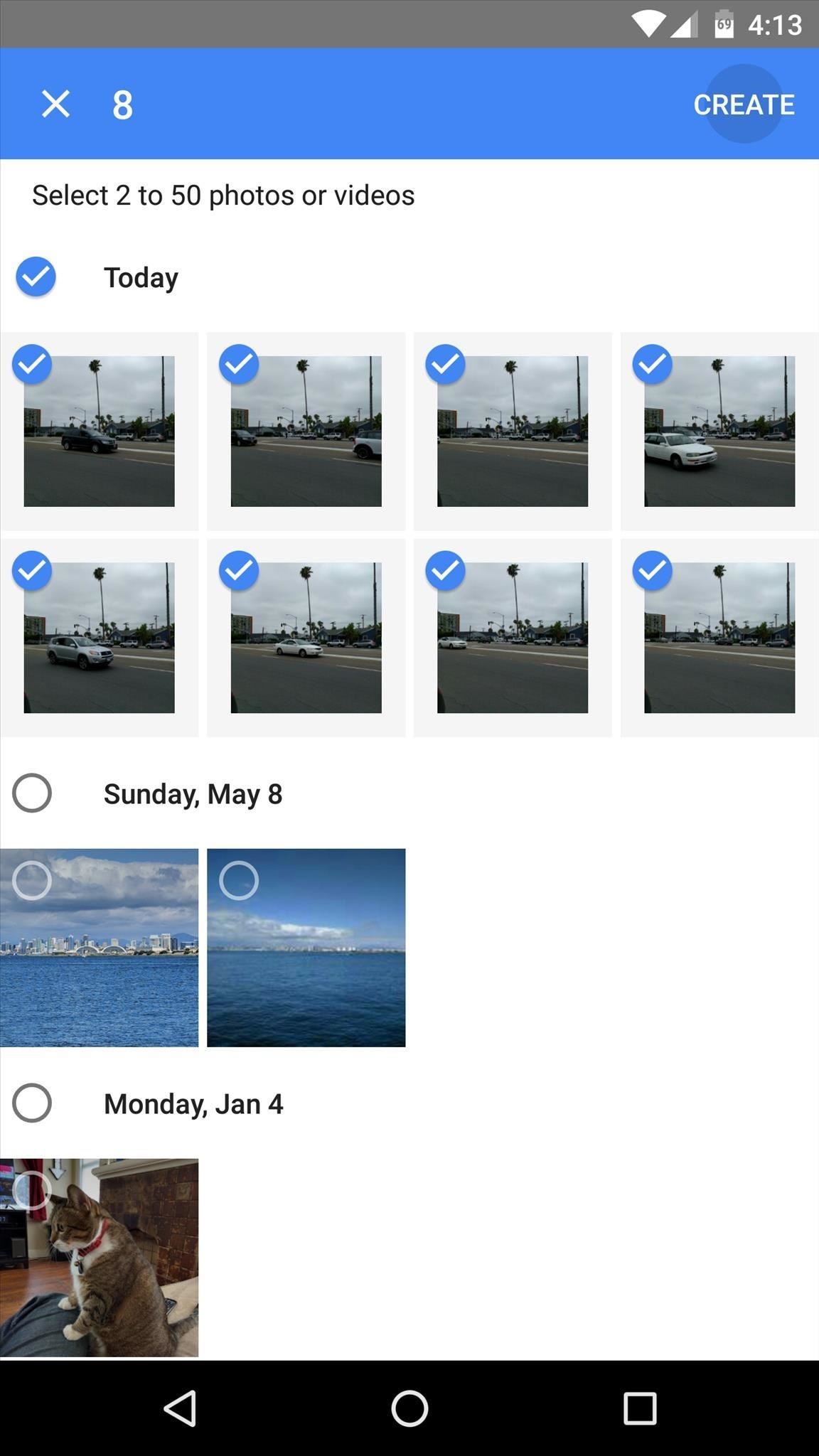 how to make movie from google photos