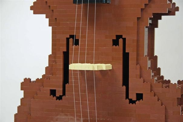 Nathan Sawaya's LEGO Cello