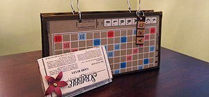 Craftsters Resuscitate Old SCRABBLE Boards Back to Life