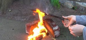 Make clean burning fire starters with non-toxic materials