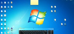 Arrange and organize icons in Microsoft Windows 7