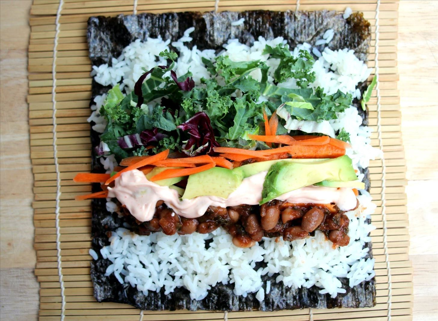 Sushi + Burrito = The Ultimate Handheld Meal