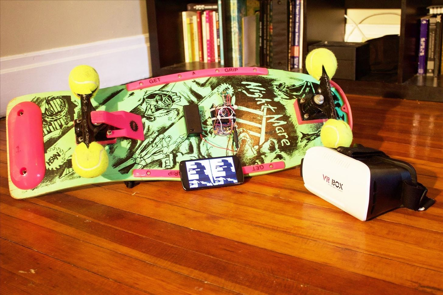 How to Hack Skateboard for Virtual Reality
