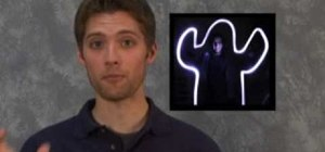 Create stop motion light painting for animation