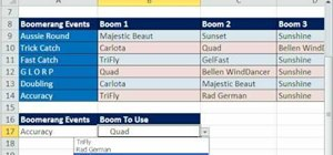 Base one drop down list on another in Microsoft Excel
