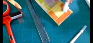 Make an easy fabric-covered hardbound journal